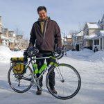 Cyclist skeptical of shoulder safety on rural roads
