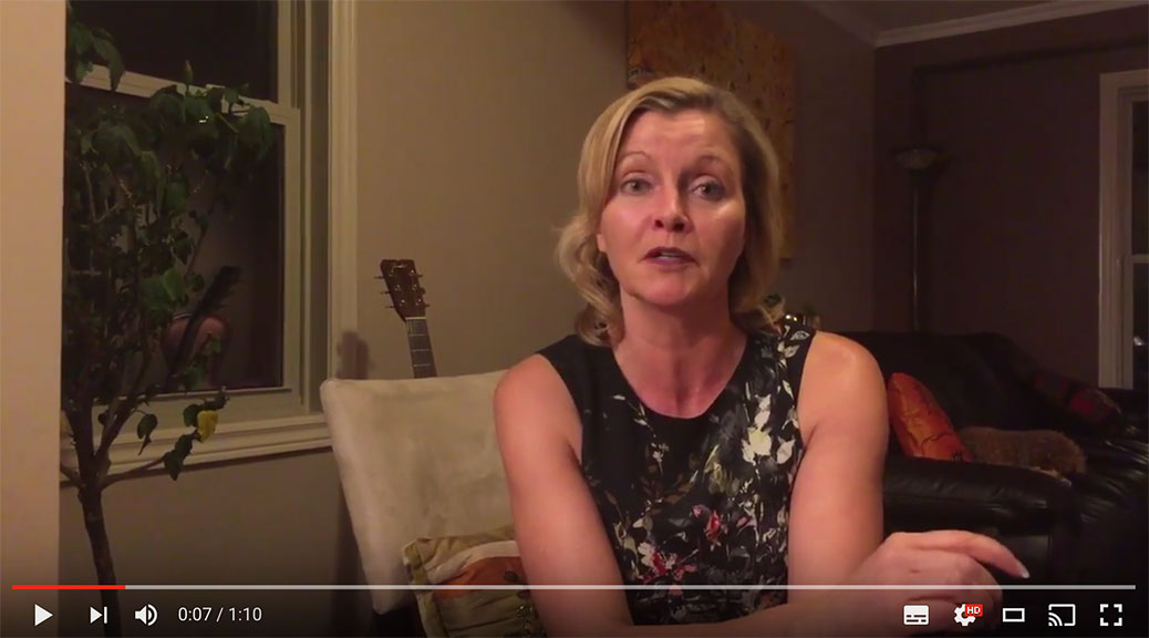 Parent Jennifer Smith recorded a video urging parents to attend a public school board meeting on Tuesday to support a public high school in Stittsville
