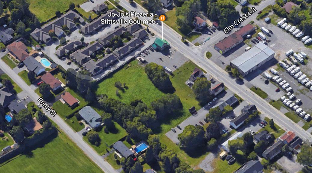Jo-Jo's property on Stittsville Main Street, via Google maps