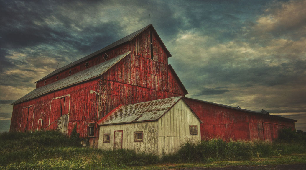 Red Barn. Photo by Joe Newton.