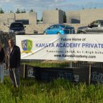 Kanata Academy breaks ground at 180 Huntmar