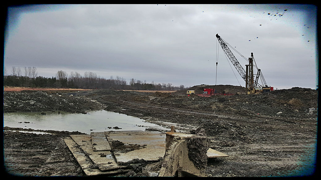 Construction is underway for the Kanata West Pump Station, part of a $60-million water infrastructure project in Kanata-Stittsville.