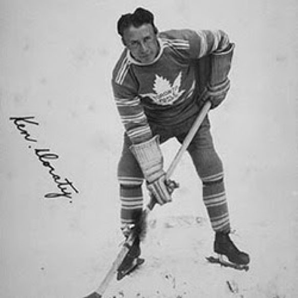 Stittsville's Ken Doraty played for the Toronto Maple Leafs in the NHL.