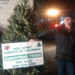 Knights of Columbus sell Christmas trees to support Stittsville charities