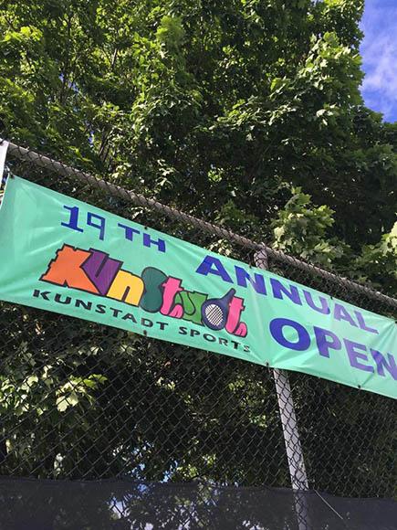 Kunstadt Open banner