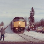 LETTER: The man waving at the train is my grandfather