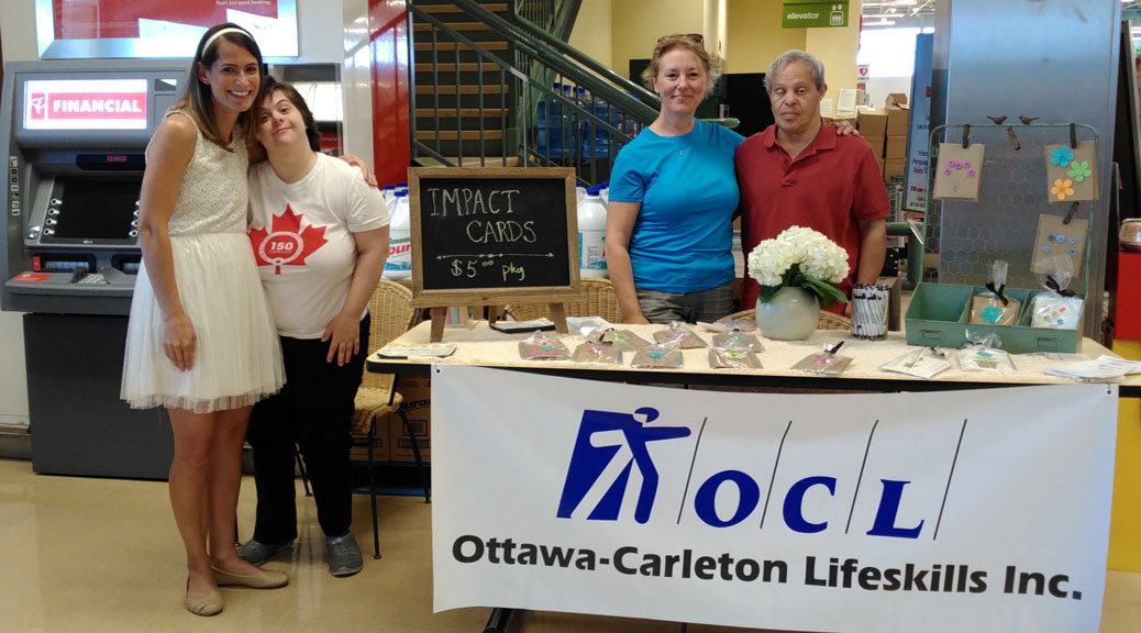 A big thank you to Todd and Sandra Brown from Brown's Your Independent Grocer for allowing Impact Cards to set up a table