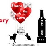 Rescue dogs and cats need your help – February is empties for paws month