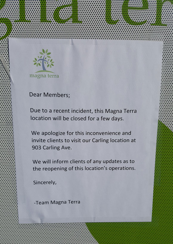 A sign was posted on the door of the facility today stating that was closed.