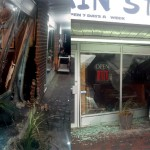 Car drives into Main Street Cafe (photos)