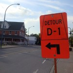 Detour due to emergency sewer work on Stittsville Main this weekend