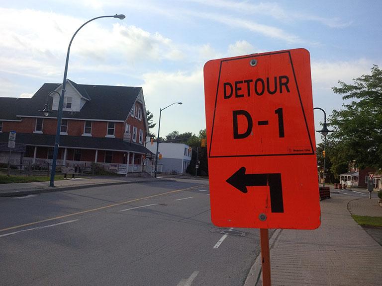 Stittsville Main Street Detour