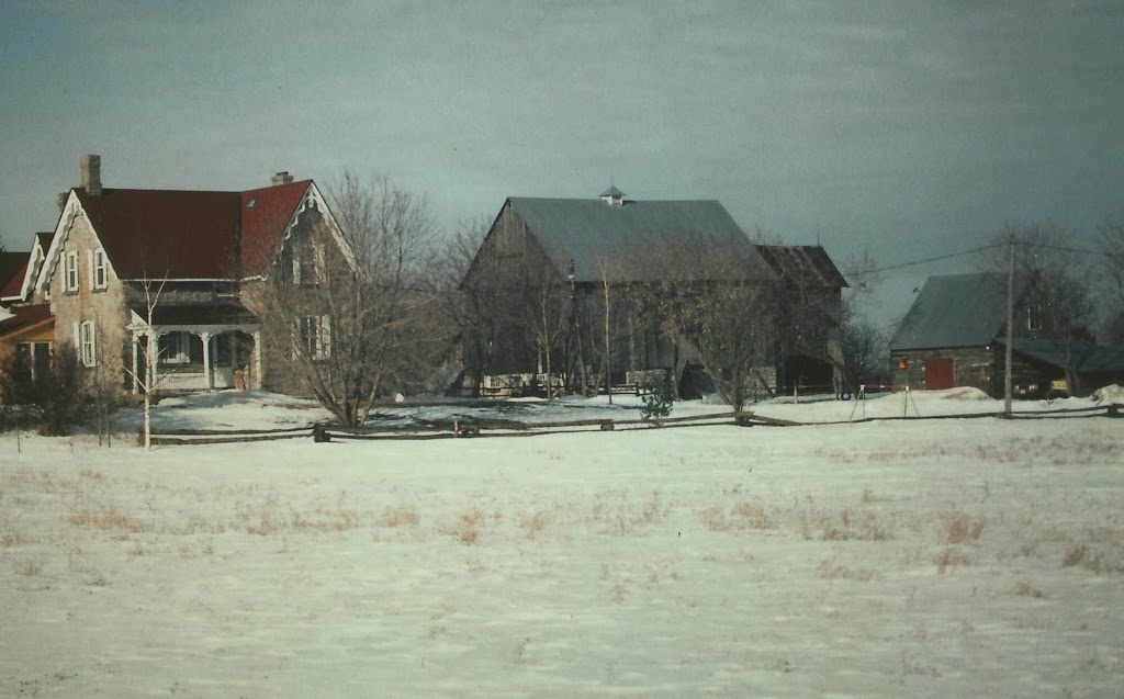 Boyd House and farm, Winter 1987.