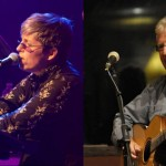 Gretchen Martin with Alan Sandeman at Gaia Java on Friday