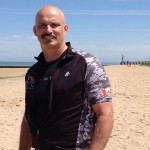 Retired military medic trains for fundraising bike tour from Vimy Ridge