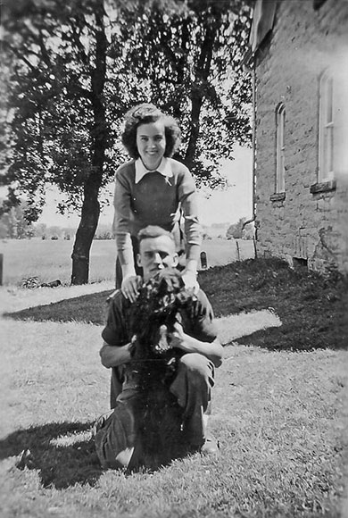 Maybelle and Lyman Boyd, 1940s. Photo courtesy of Melodie McCullough.
