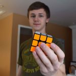 Sacred Heart student hits the road for Montreal Rubik's cube competition