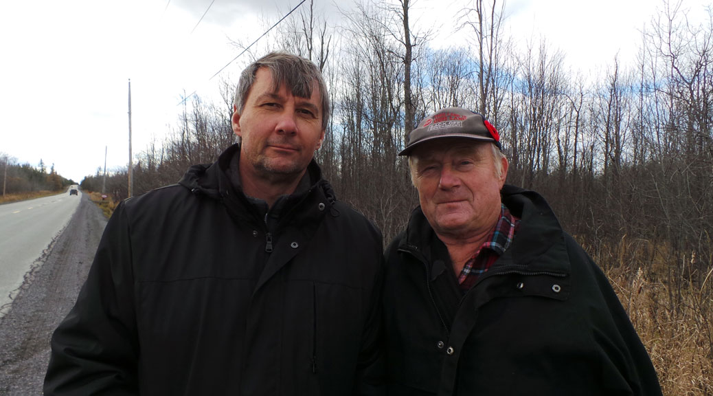 Michael Erland (left) and Mike Westley. Photo by Glen Gower