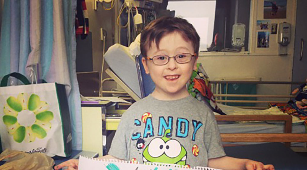 Michael Meehan, an 8-year-old from Stittsville, Ontario, has been named a Canadian Down Syndrome Hero