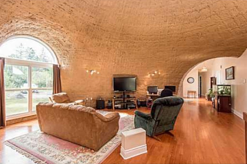 Unusual Monolithic Dome Home For Sale On Dwyer Hill