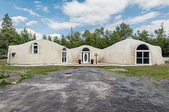Monolithic dome home on Upper Dwyer Hill Road