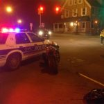 Police look for owner of wrecked motorcycle at Abbott and Stittsville Main