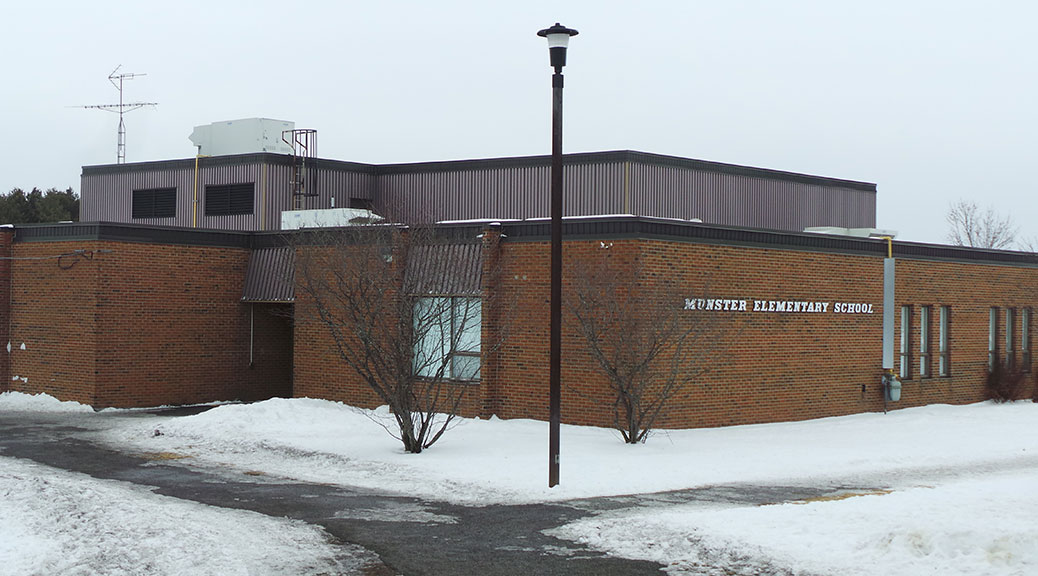Munster Elementary School, January 2015