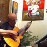 Versatile guitarist Neil Bateman at Gaia Java this Friday