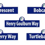 New street names revealed: Bobcat, Snowberry, Brae, Henry Goulburn, Turtleback