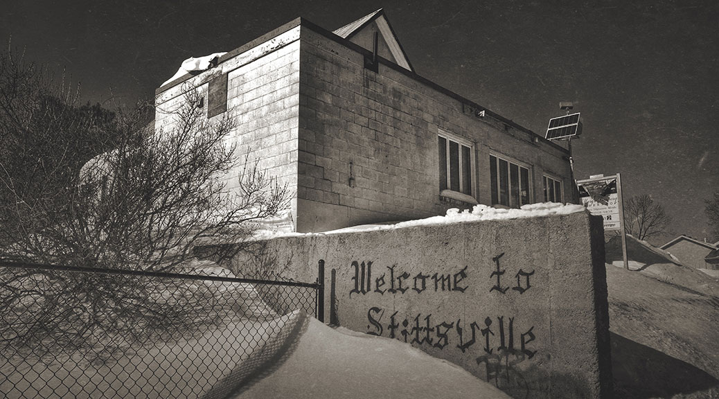 Welcome to Stittsville. Photo by Joe Newton.