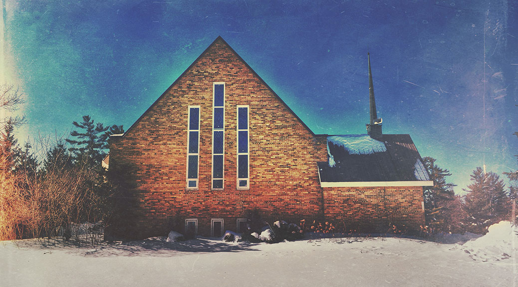 Church on Stittsville Main Street. Photo by Joe Newton.