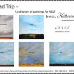 New work from Katherine Jeans on display at NeXT
