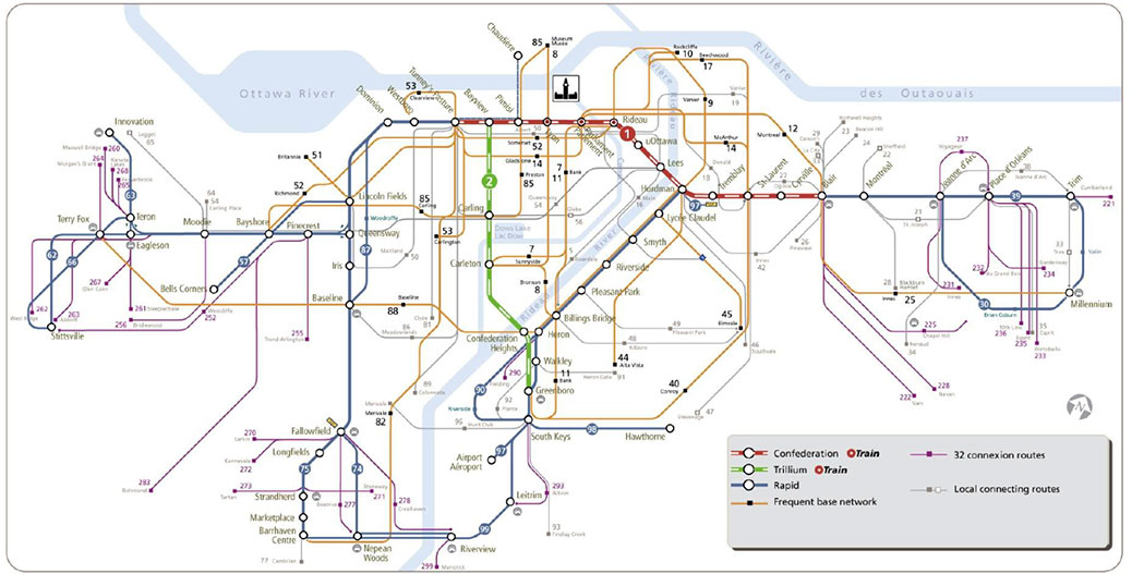 Oc Transpo Route Map Here's how your OC Transpo commute will change in the next few