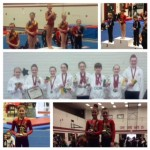 Olympia Gymnastics owns the podium at weekend meet