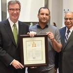 Jackson Trails resident Omar Sultan receives Mayor's City Builder Award