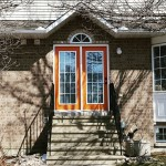 PHOTO: Orange doors on Stittsville Main Street