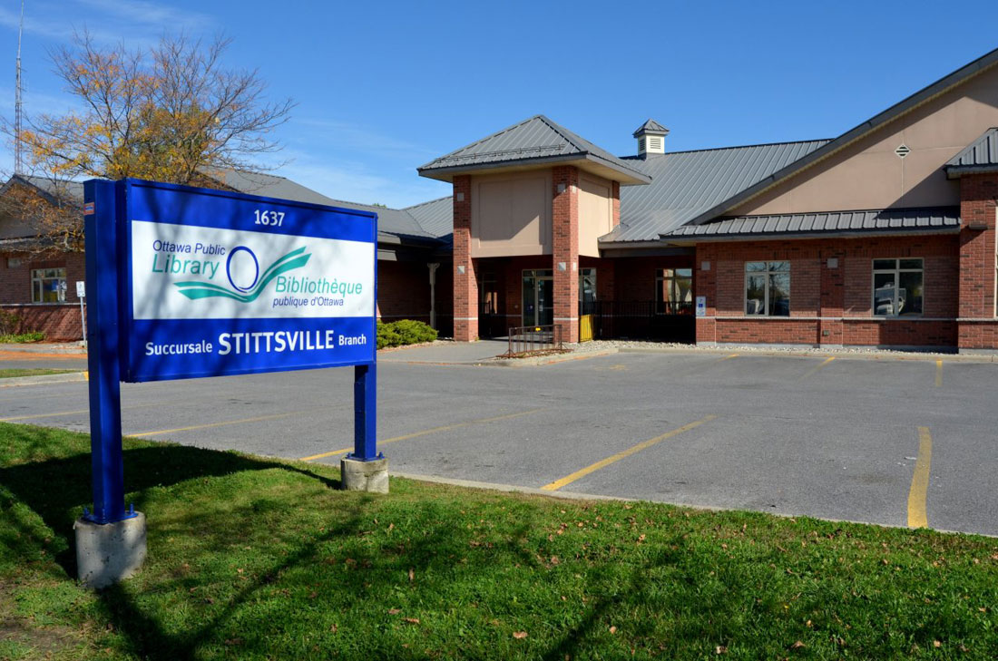Ottawa Public Library -Stittsville Branch (photo courtesy of the City of Ottawa)