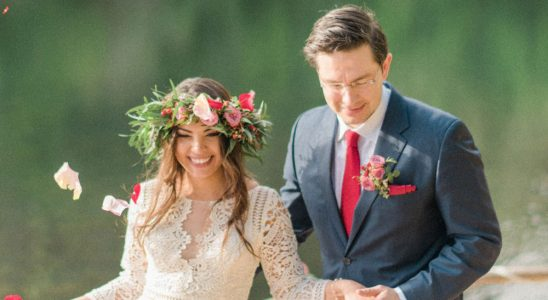 Pierre and Anaida Poilievre get married