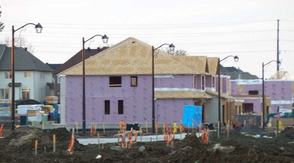 Poole Creek Village under construction, November 2015
