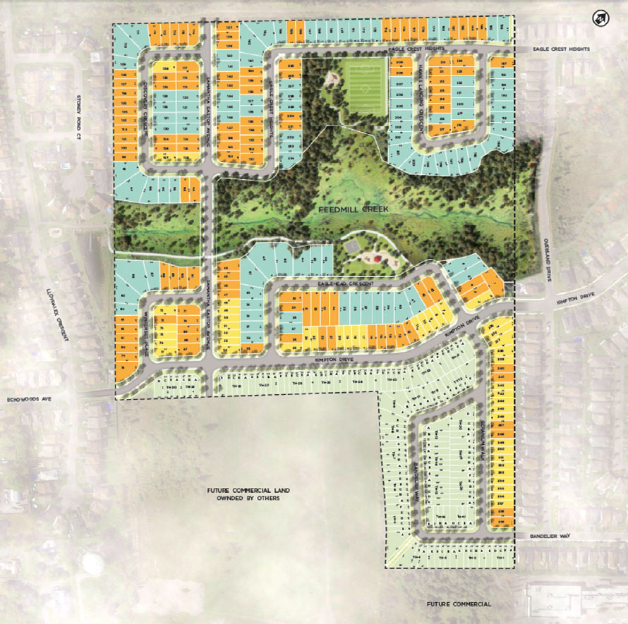 Map of the Potters Key subdivision. (via Minto)