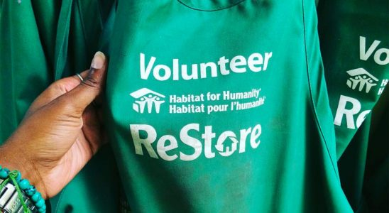 Habitat for Humanity ReStore volunteer t-shirt