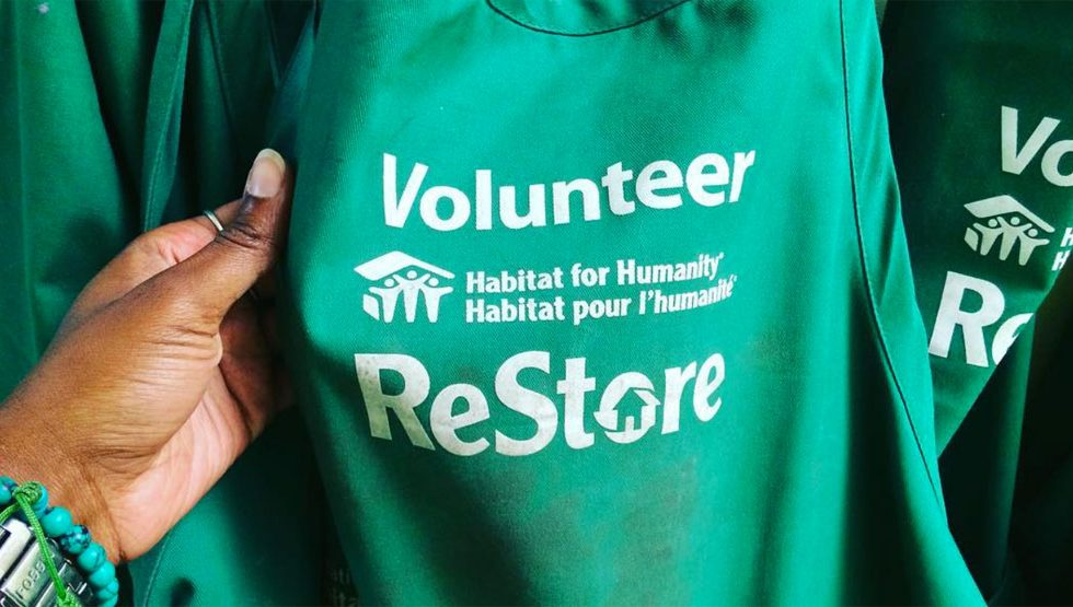 Habitat for Humanity ReStore volunteer t-shirt