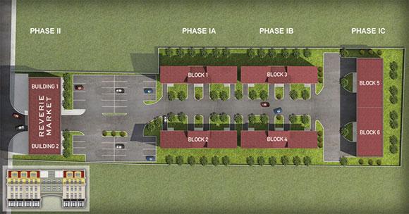 The original Reverie Quarters site plan.