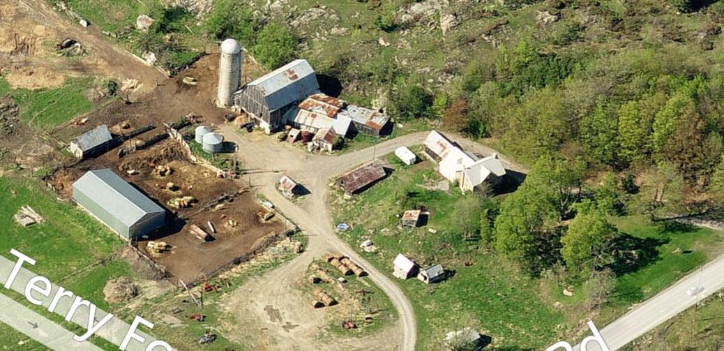 Richardson Farm, via Bing Maps
