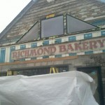 Vintage Richmond Bakery sign uncovered during renovations