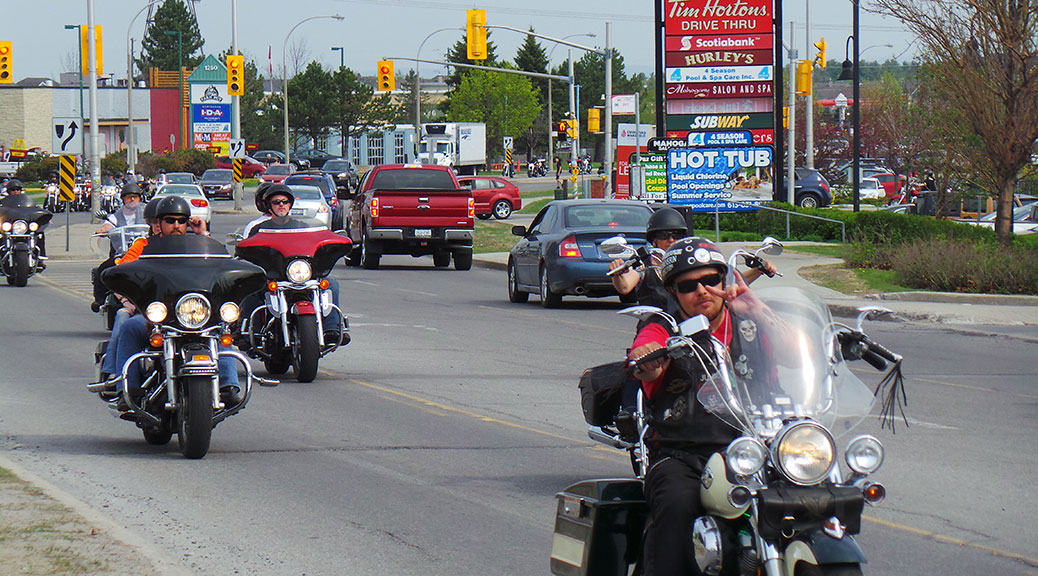 Ride for Disabled Vets, May 9, 2015.