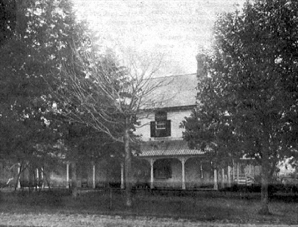 Robert Grant House was destroyed by the 1870, then restored. It survived until 1992.