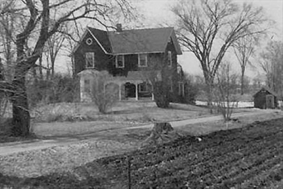 The Robert H. Grant home was built in 1885 on land that was expropriated and now known as Grant Crossing on Hazeldean Road.