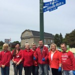 Liberal candidate and supporters help clean up Stittsville Main Street