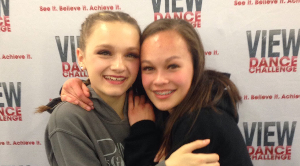 Paige Publow, age 13, Stittsville, Pointe of Grace Dance Company Rylee Fortier-Turner, age 12, Kanata, Pointe of Grace Dance Company